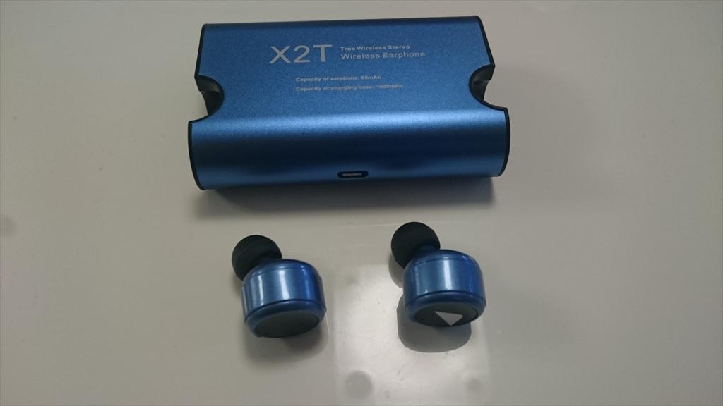 ダイエットお役立ちグッズ Bluetoothイヤホン TAROME X2T のレビュー