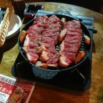 小倉北区にあるパトンリゾートで国産牛ステーキ食べ放題を食べた!