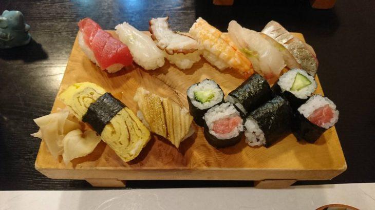 門司区にある回らないお寿司屋さん、鮨まりんへと行った!