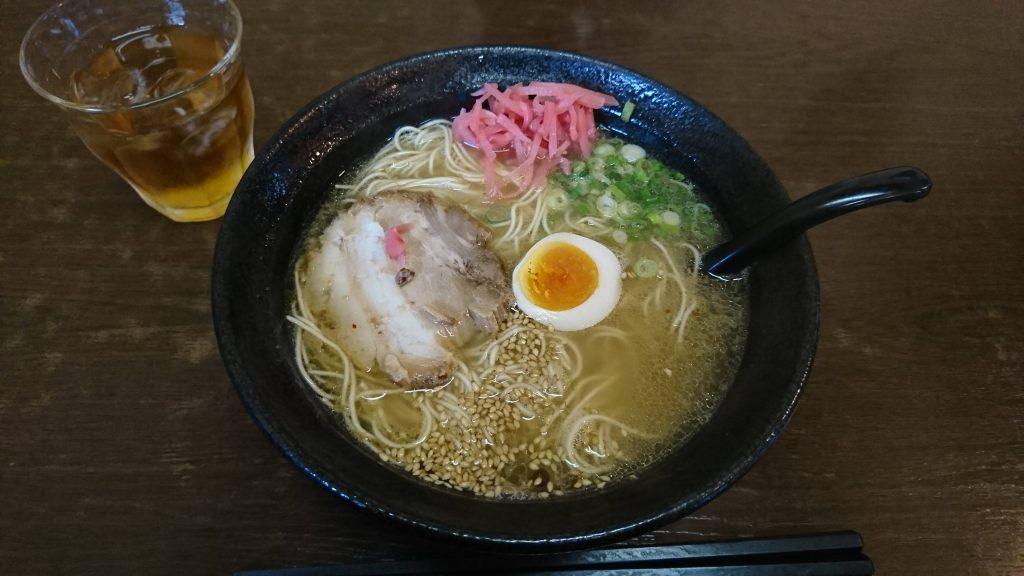 小倉南区にある黒豚とんこつラーメン店、拓味亭 津田本店へと行った!