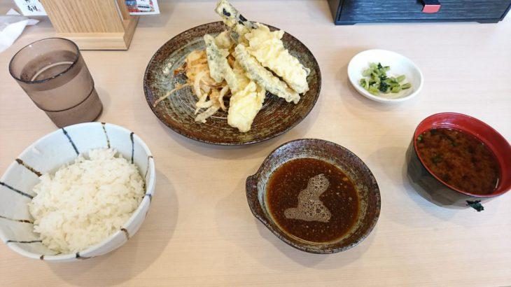 小倉北区にある天ぷら屋、満天食堂へと行った!