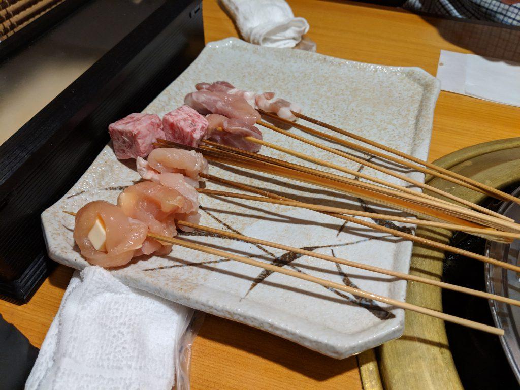 下関市にある串かつ食べ放題のお店、「串かつ 鍋 おがた」へと行った!