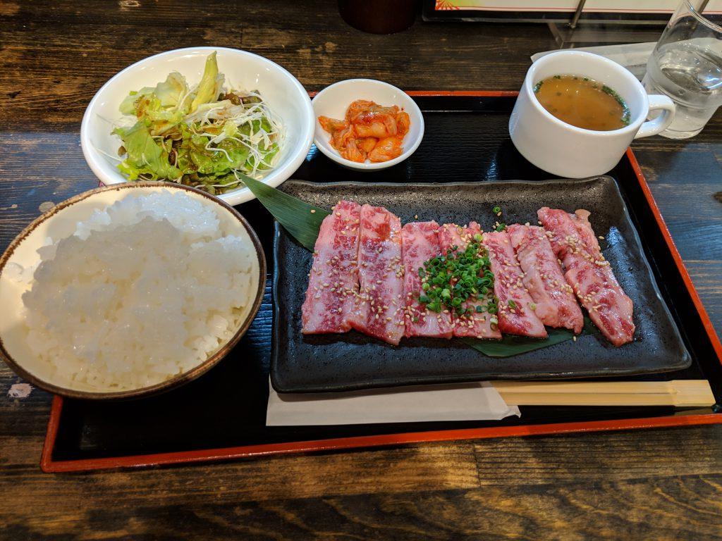 小倉南区にある焼肉店、炭火焼肉いちでランチを食べた!