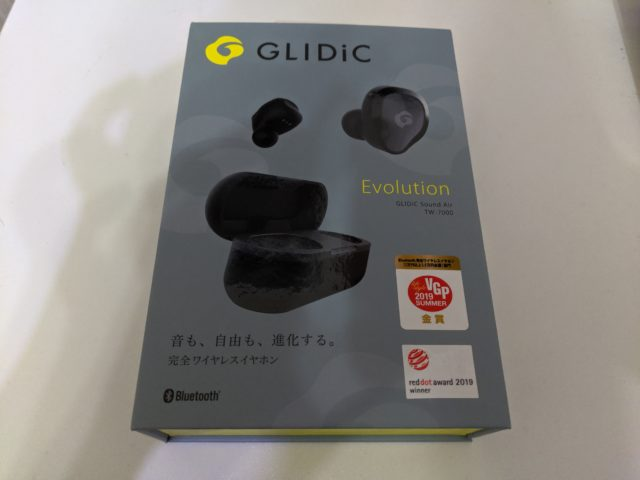 外音取込機能付きの完全ワイヤレスイヤホン!GLIDiC TW-7000のレビュー