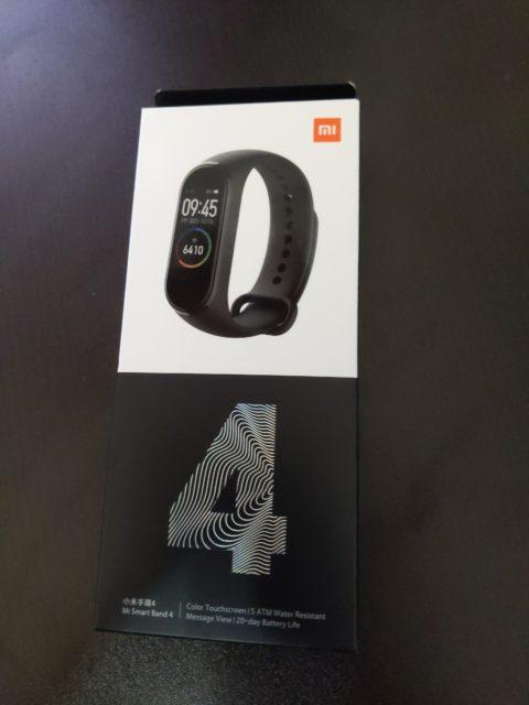 Xiaomi MiBand4を4ヶ月ほど使ってみた感想