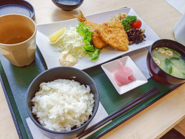 小倉記念病院の中にあるはなさき食堂でランチを食べた!
