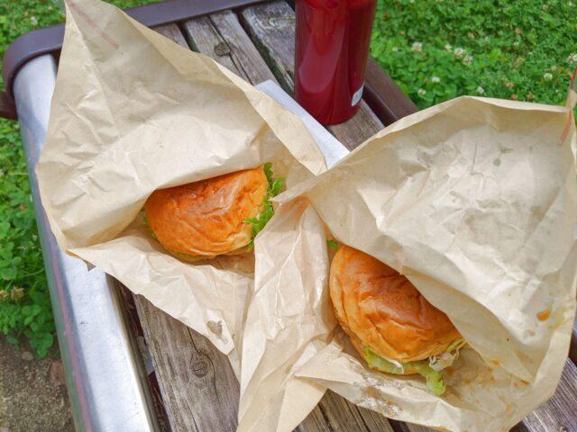 プチボヌールの小倉バーガーを食べた!