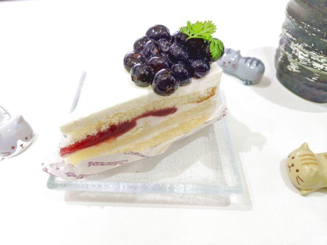 シャトレーゼのブルーベリーのクリームチーズケーキを食べた!