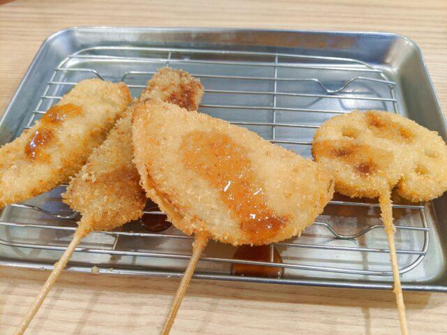 串カツ田中 アミュプラザ小倉店で串カツ食べ放題を食べた!