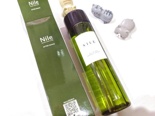 Nile メンズ オールインワン化粧水を使ってみた!