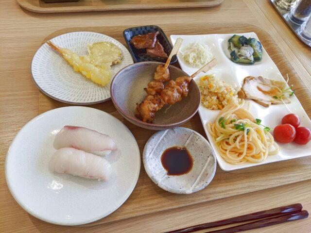 唐津市にあるホテルビュッフェ、月波楼(げっぱろう)でランチを食べた!
