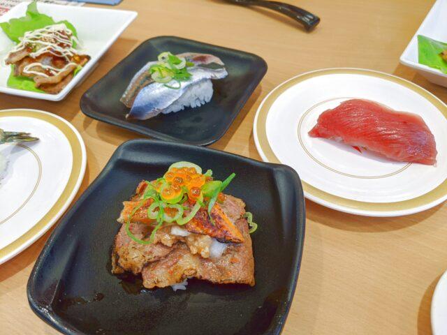 初めて新下関のかっぱ寿司に行った!