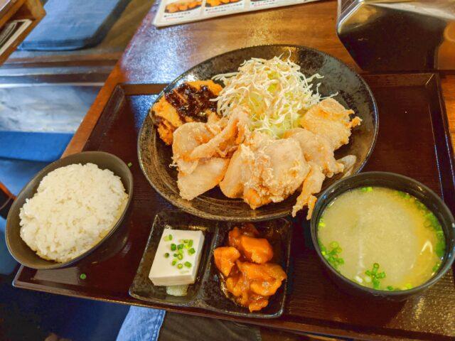 小倉南区にある中津からあげ もり山 小倉南店でランチを食べた!