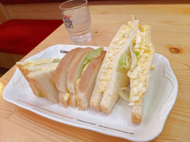 コメダ珈琲のエッグトーストとクロネージュを食べた!