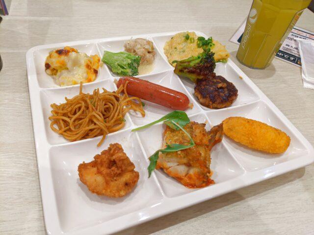 神戸クック ワールドビュッフェのヨーロッパフェアでランチを食べた!