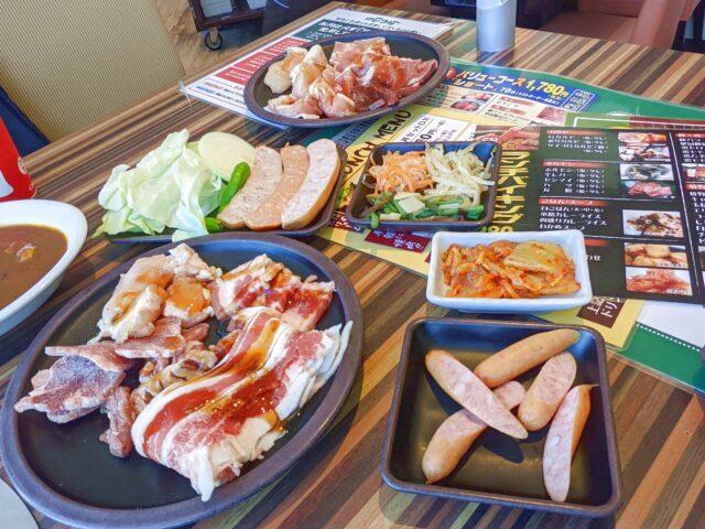 焼肉オーダーバイキング はちゃつぼ I'm小倉店で焼肉食べ放題ランチを食べた!
