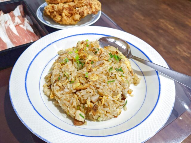 小倉北区にある栄昇閣でしゃぶしゃぶと中華料理食べ放題を食べた!