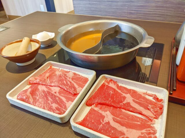 ゆず庵の黒毛牛・牛タンしゃぶ・上寿司+料理長おすすめ 季節の逸品コースを食べた!