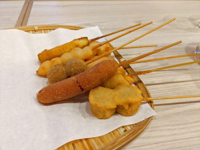 小倉北区にある串揚げ 渋田厚志 小倉店でランチの食べ放題を食べた!