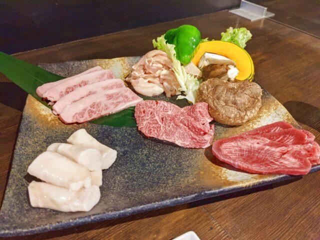 小倉北区にある焼肉処 天下布武 小倉総本店で松 7点盛りを食べた!