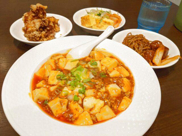 小倉北区にある中華料理 唐彩で麻婆豆腐を食べた!