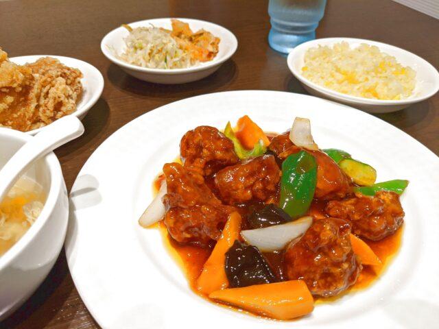 小倉北区にある中華料理 唐彩で酢豚を食べた!