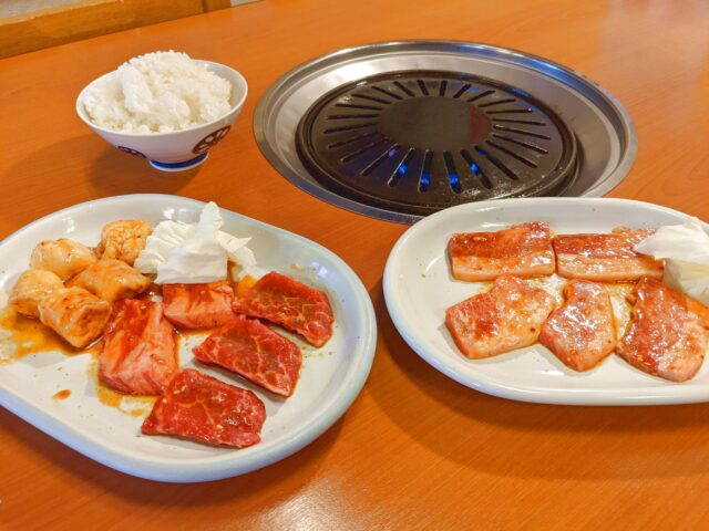 小倉北区にある焼肉田吾作で焼肉を食べた!