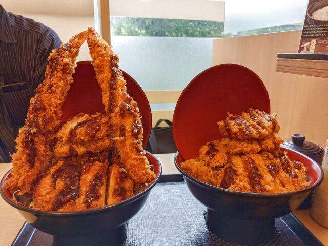 下関市にあるとんかつととろろ膳 かつ麦 ゆめシティ店でエベレストかつ丼を食べた!