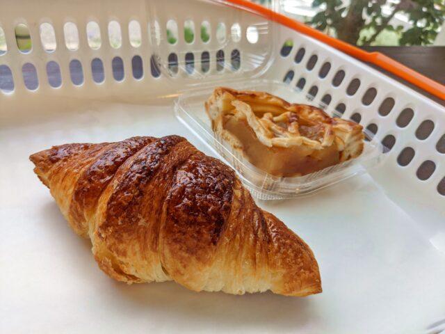 下関市にある石窯パン工房ドロシーでクロワッサンとアップルパイを食べた!