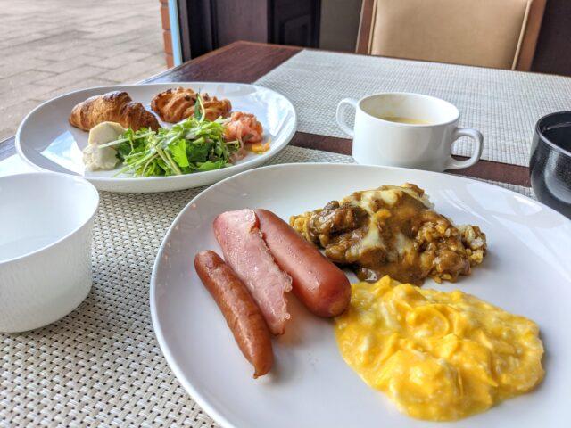 プレミアホテル門司港の中にあるビュッフェファーマーズでモーニングビュッフェを食べた!