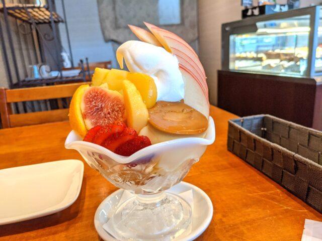 小倉南区にあるプチ・ラパンでプリンパフェを食べた!